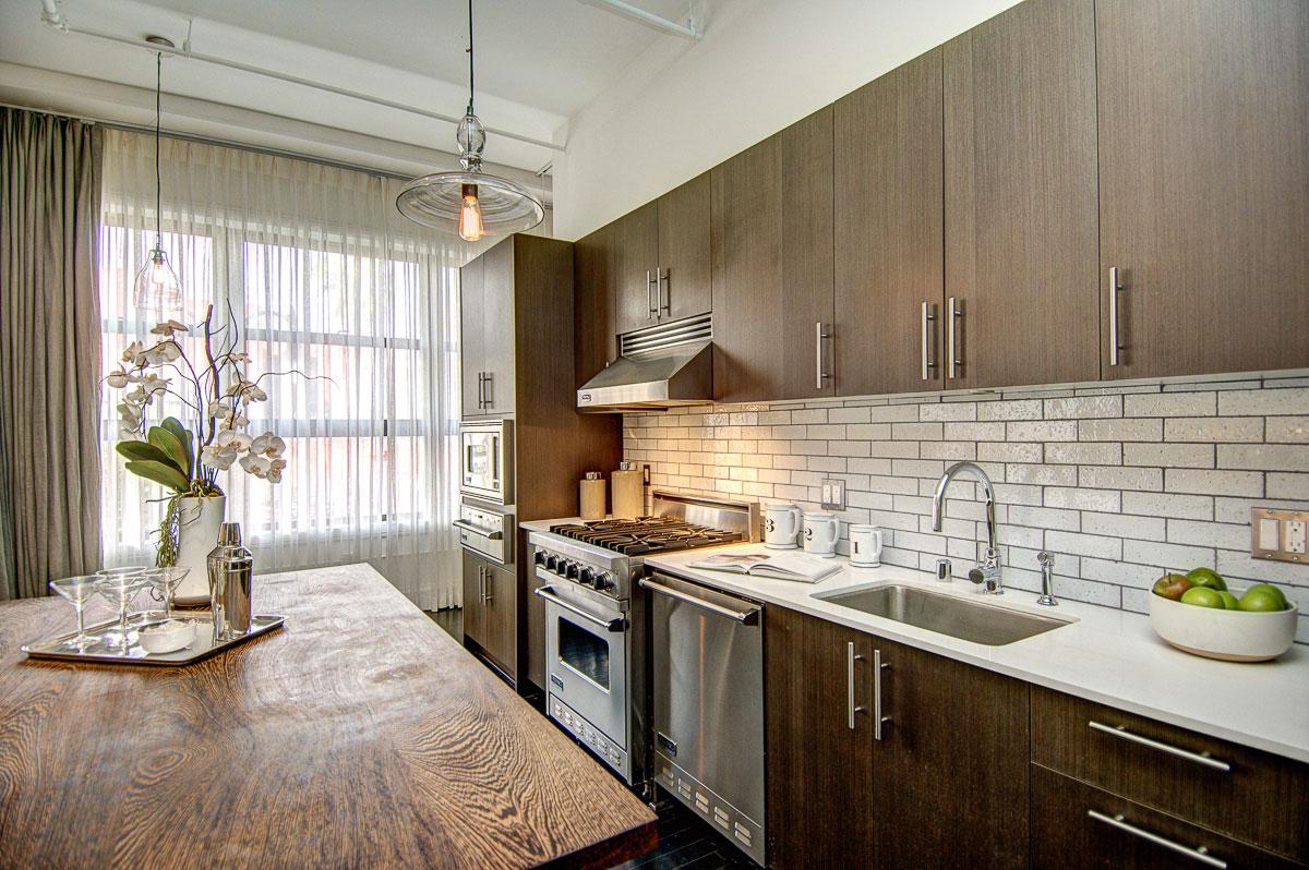 вызывает интерес стиль лофт в квартире на кухне фото наконец-то